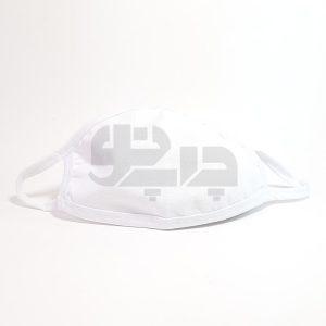 ماسک پنبه ای سابلیمیشن سفید