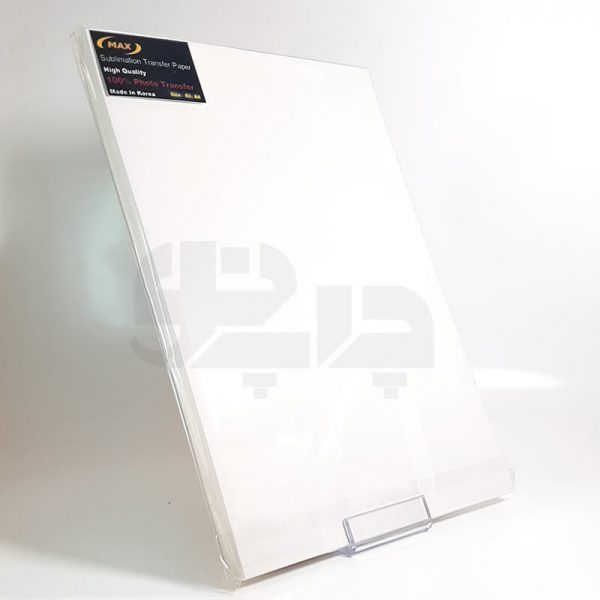 کاغذ سابلیمیشن a4 مدل MAX