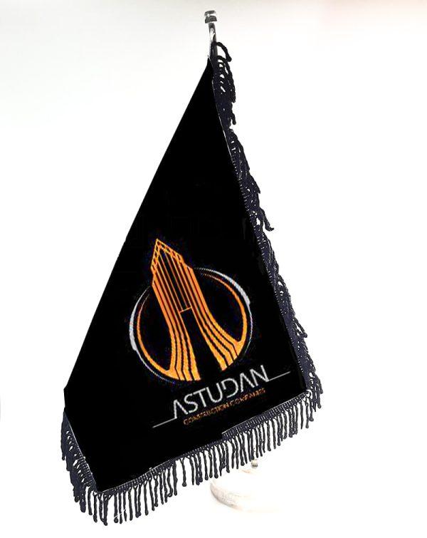 پرچم ساتن ریشه مشکی