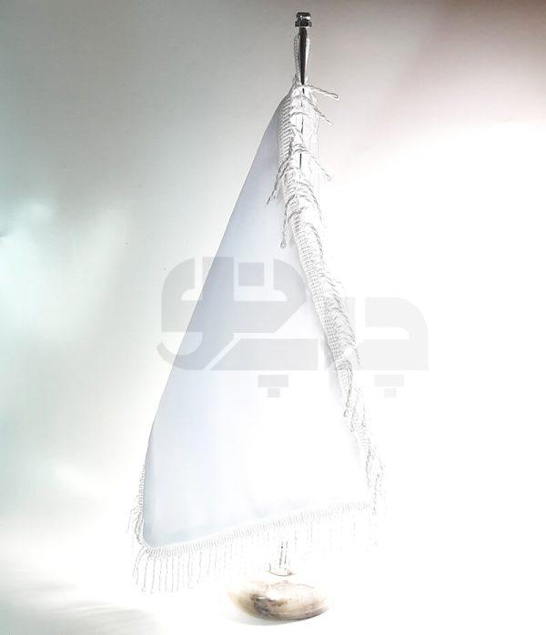 پرچم ساتن ریشه سفید